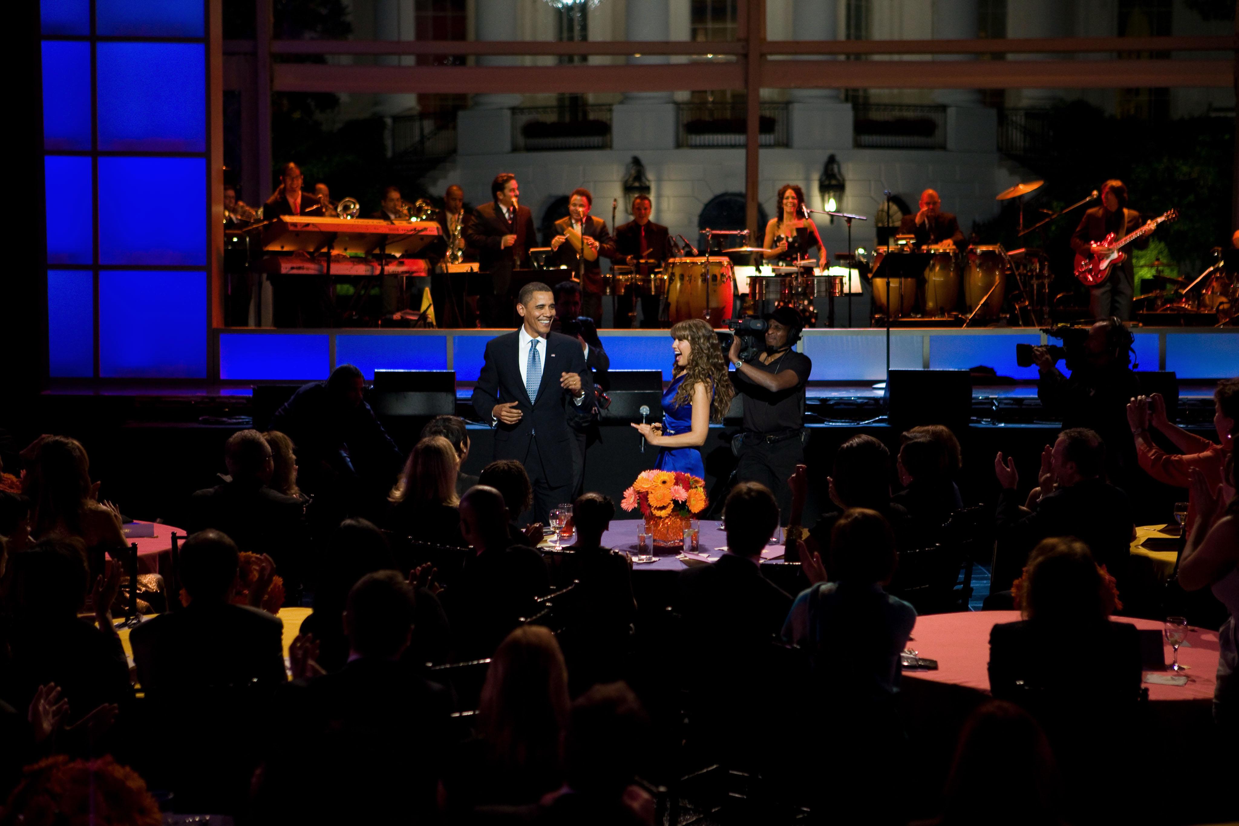 Con Barack Obama
