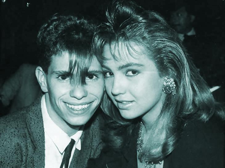Thalia con Diego Schoening