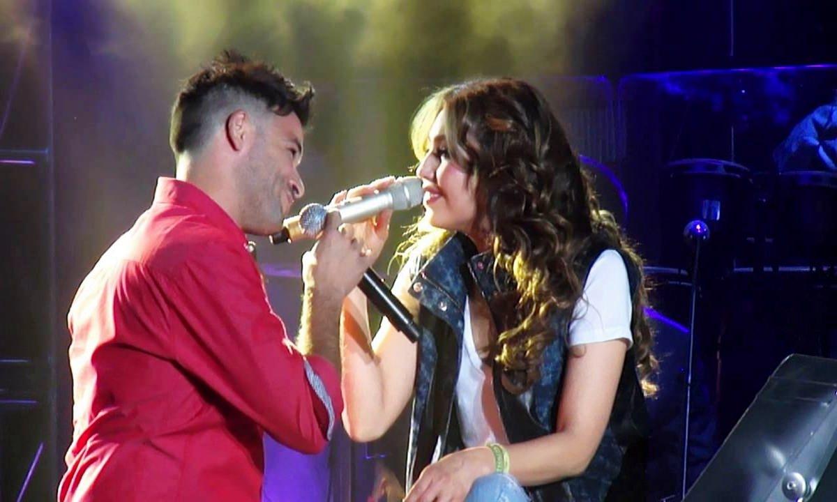 Thalia con Pedro Capo