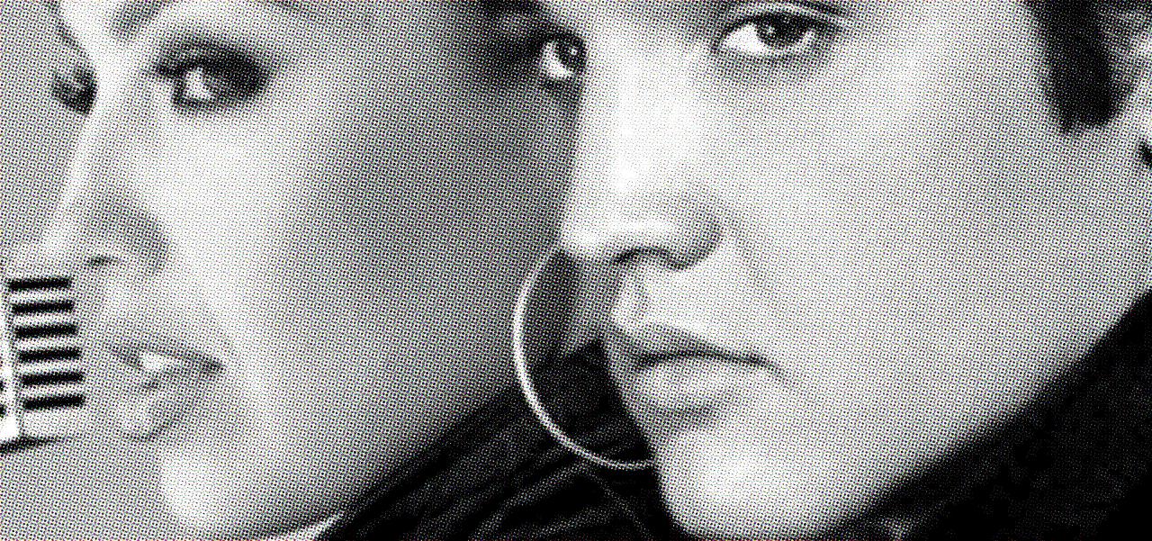 Thalia con Elvis Presley