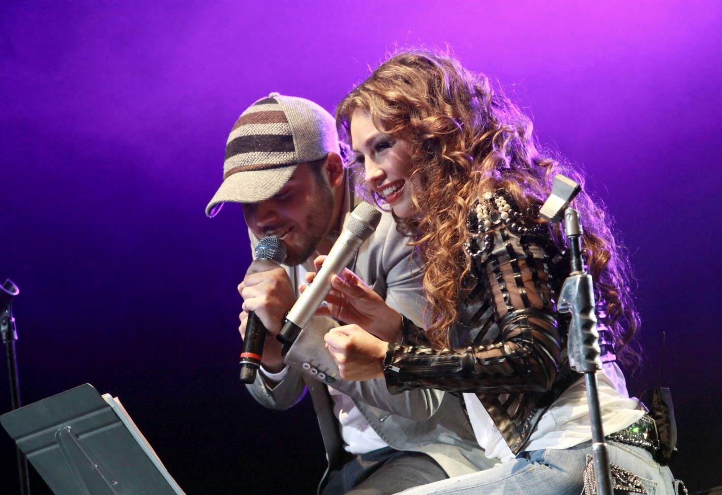 Thalia con Gerardo Ortiz