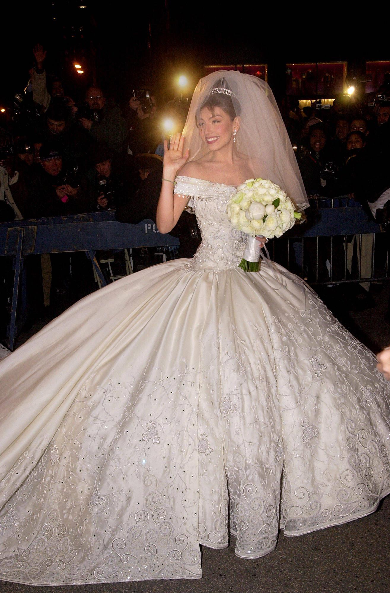 Tommy Mattola Weds Thalia