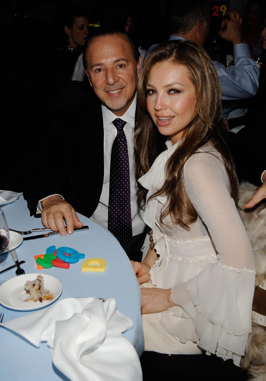 Thalia con Tommy