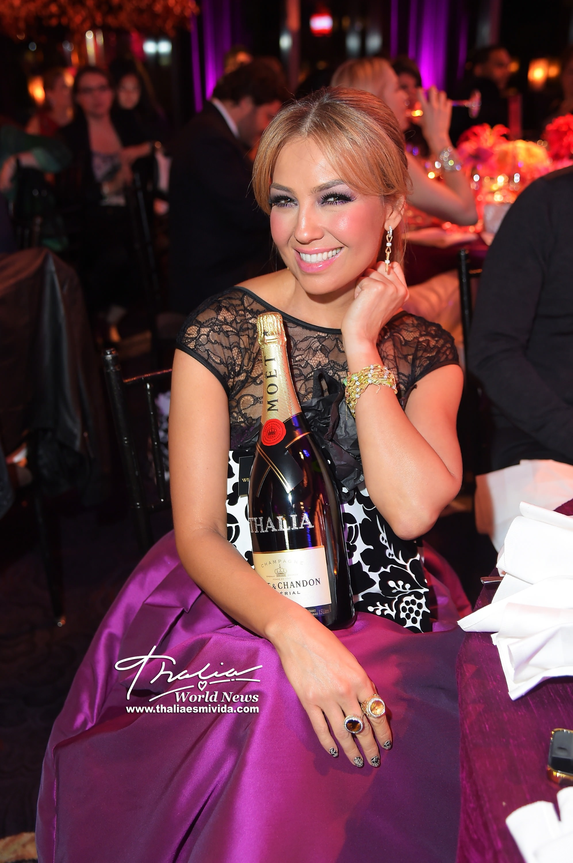 Moet & Chandon Toasts To The Vanidades Icons Of Style