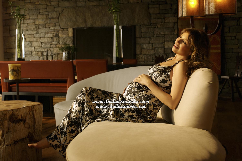Thalia Pregnant