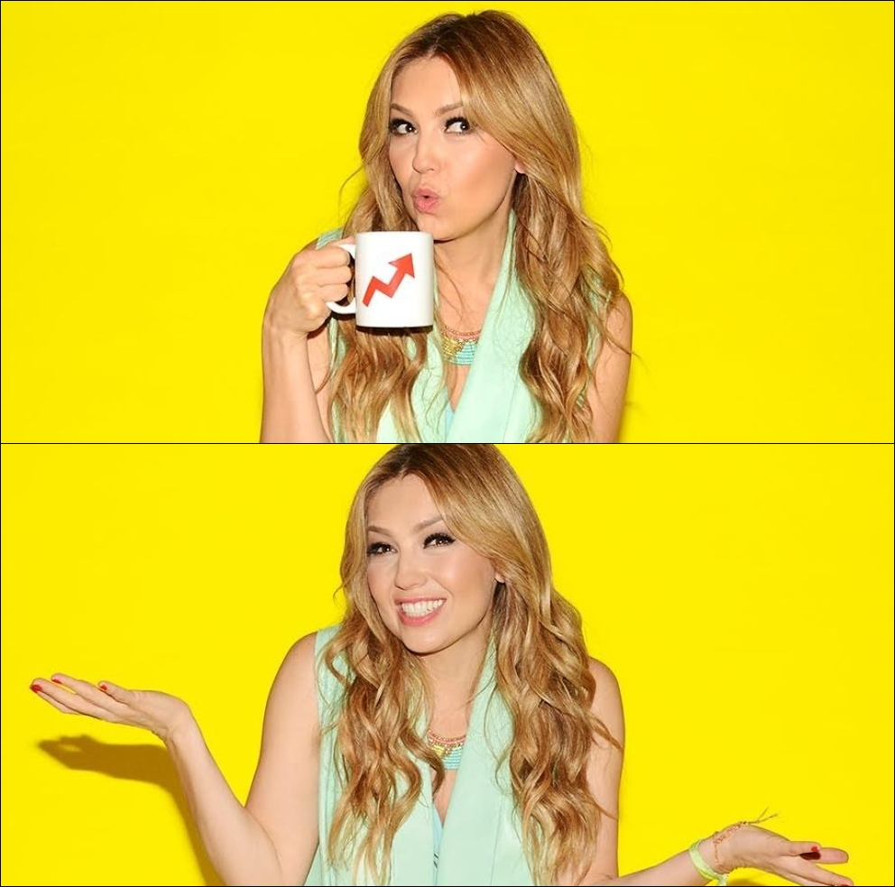 Thalia en Buzzfeed