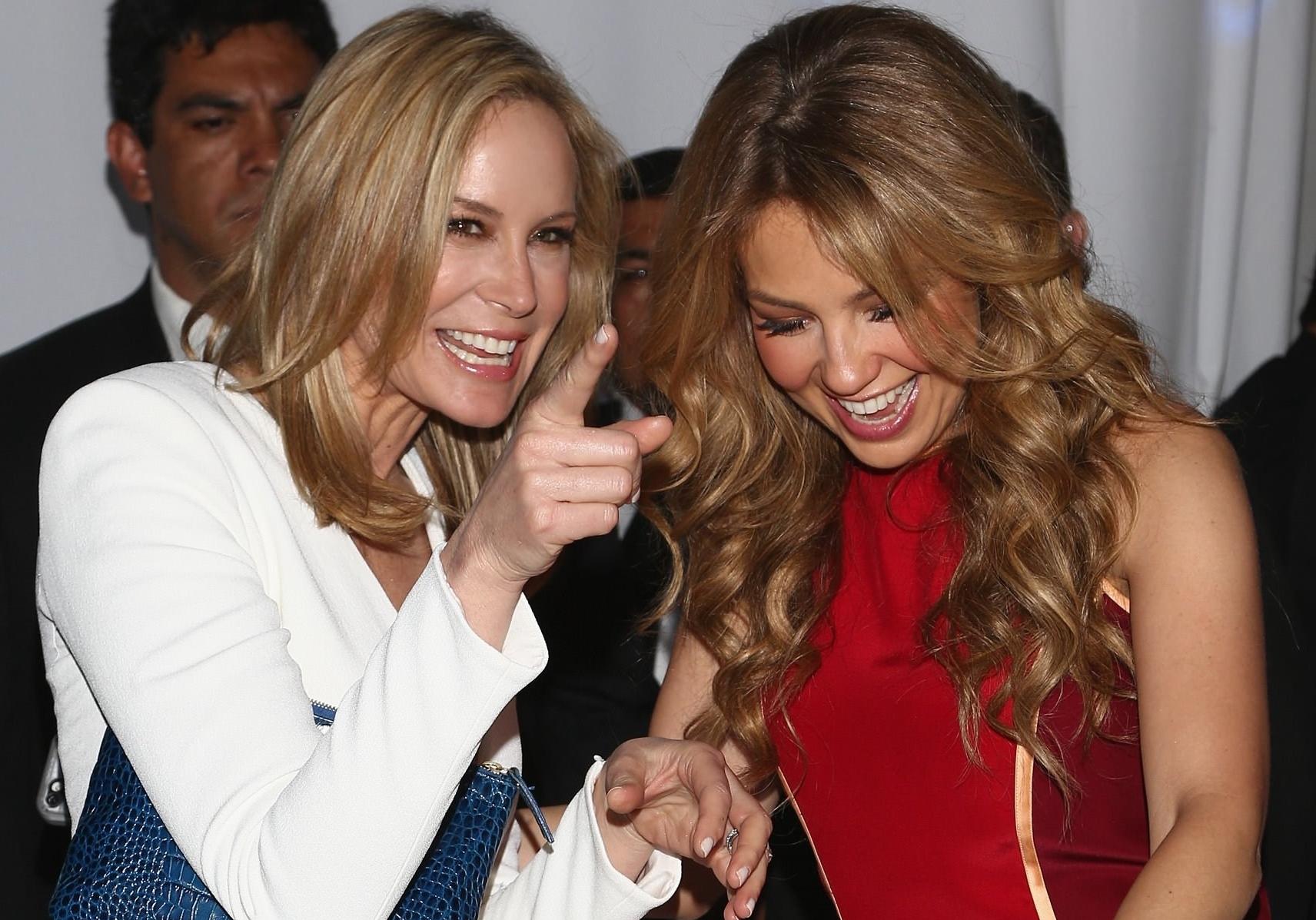 Thalia con Dee
