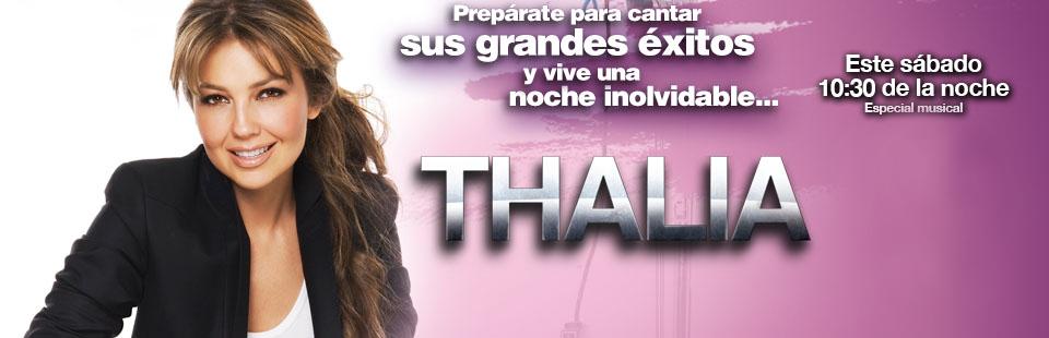 Thalia Concierto
