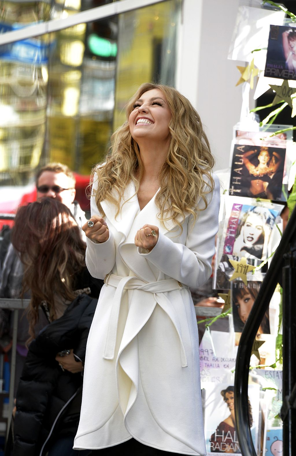 Thalia receives star on Hollywood Walk of Fame