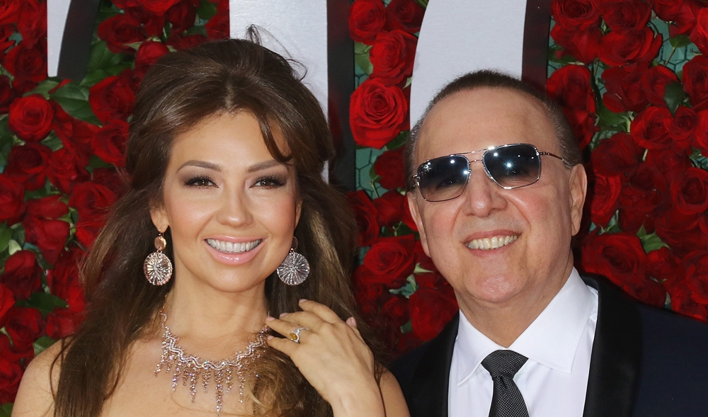 Thalía and Tommy Mottola attend the 70th Annual Tony Awards at The Beacon Theatre on June 12, 2016 in New York City. Click here for more HQ photos!