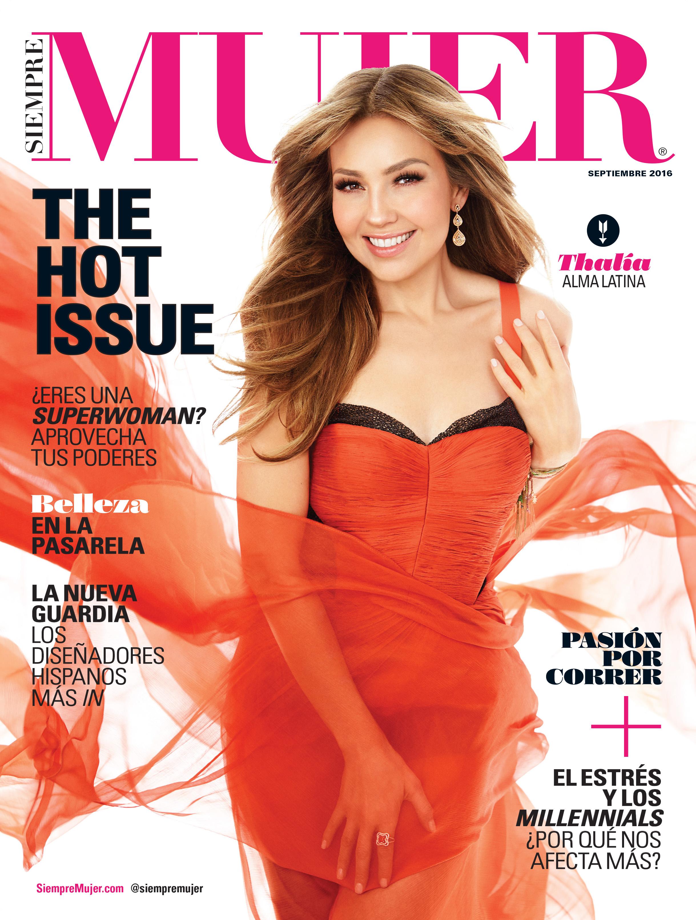 La cantante invitada en esta publicación, confiesa que admira las capacidades de la mujer latina y valora el apoyo de su equipo de trabajo