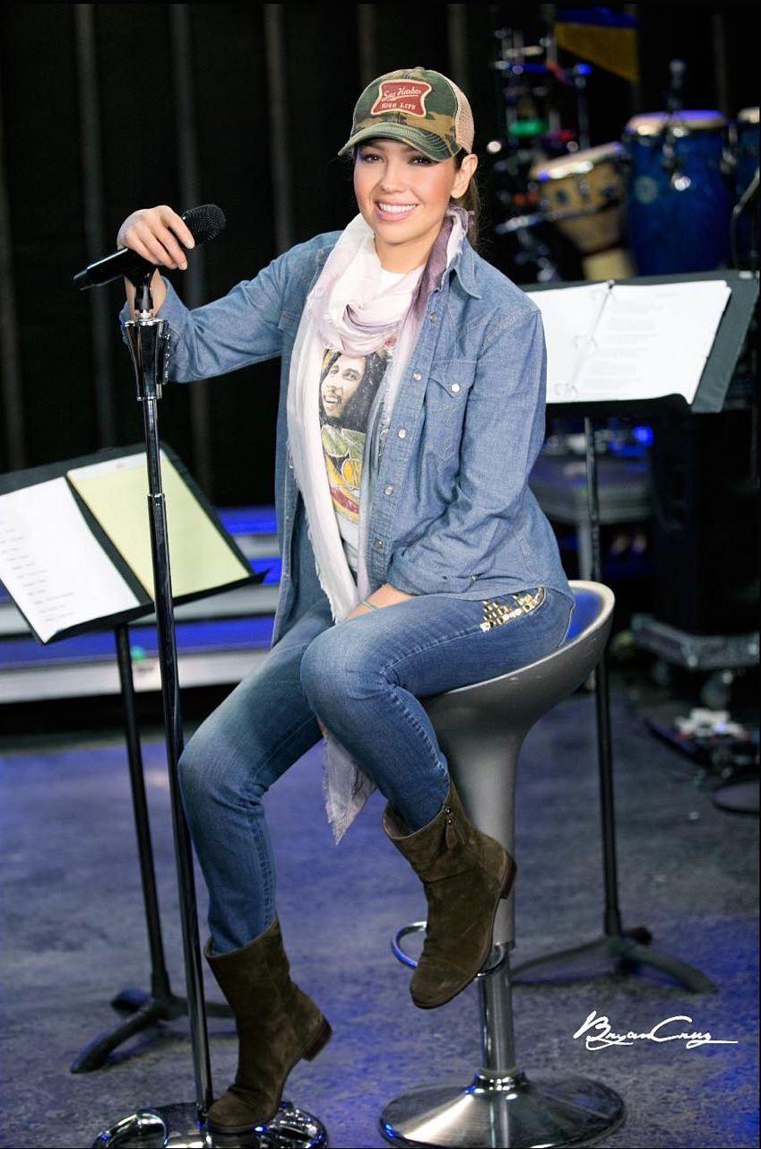 Thalía fotografiada por Bryan De La Cruz