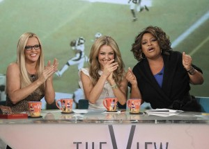 Thalia on The View (2)