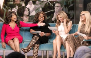 Thalia on The View (3)