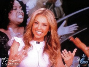 Thalia on The View (4)
