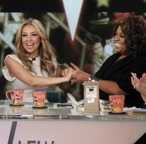 Thalia on The View (9)